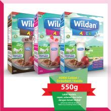 Wildan ADEK Coklat / Strawberi / Vanila (550g)